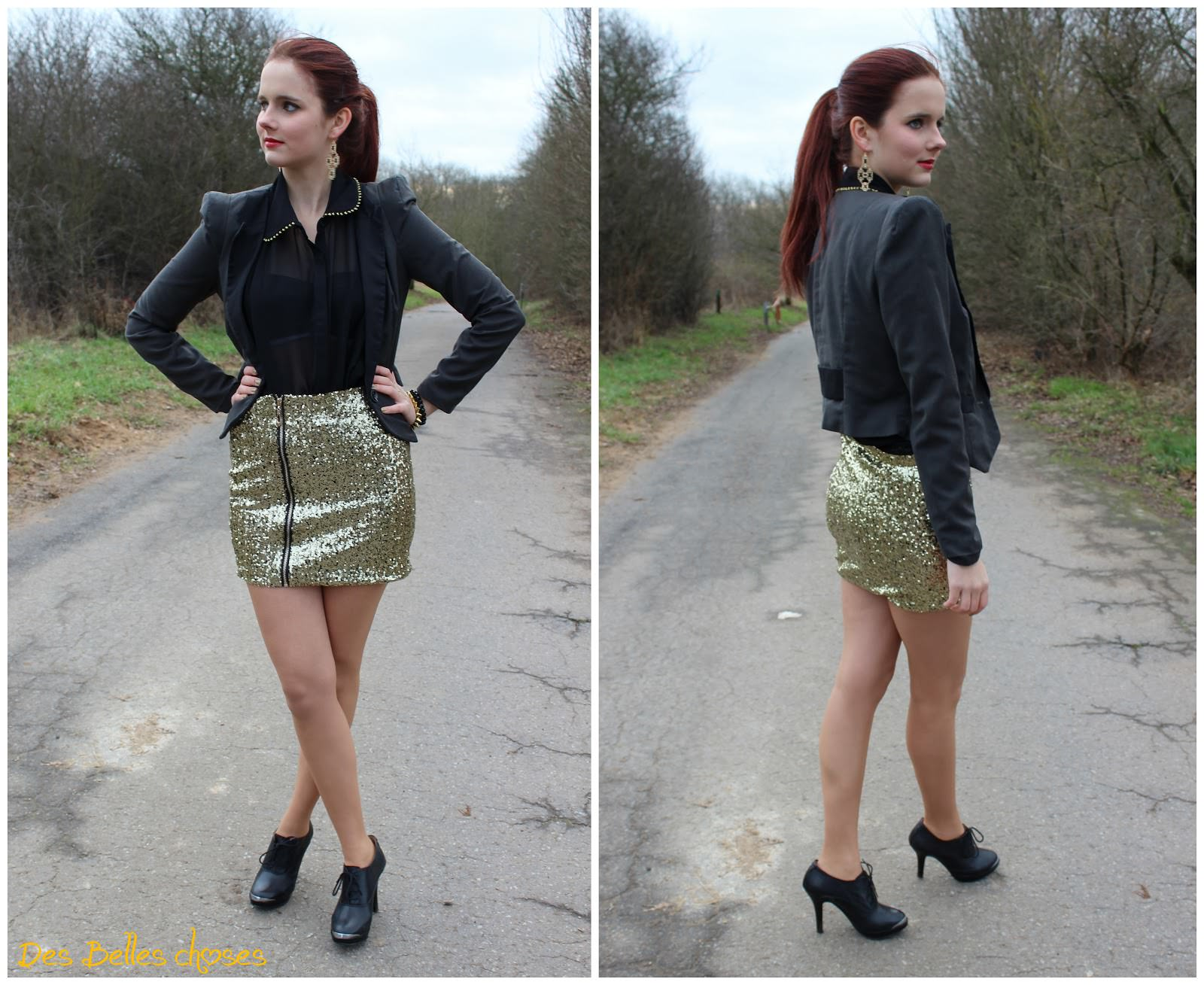 Outfit Last Night 2012 Des Belles Choses Travel Style Blog
