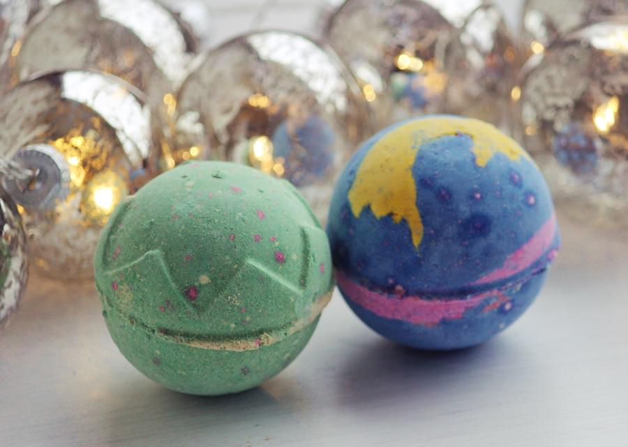 Lush Badebomben – Shoot of the stars & Lord of Misrule