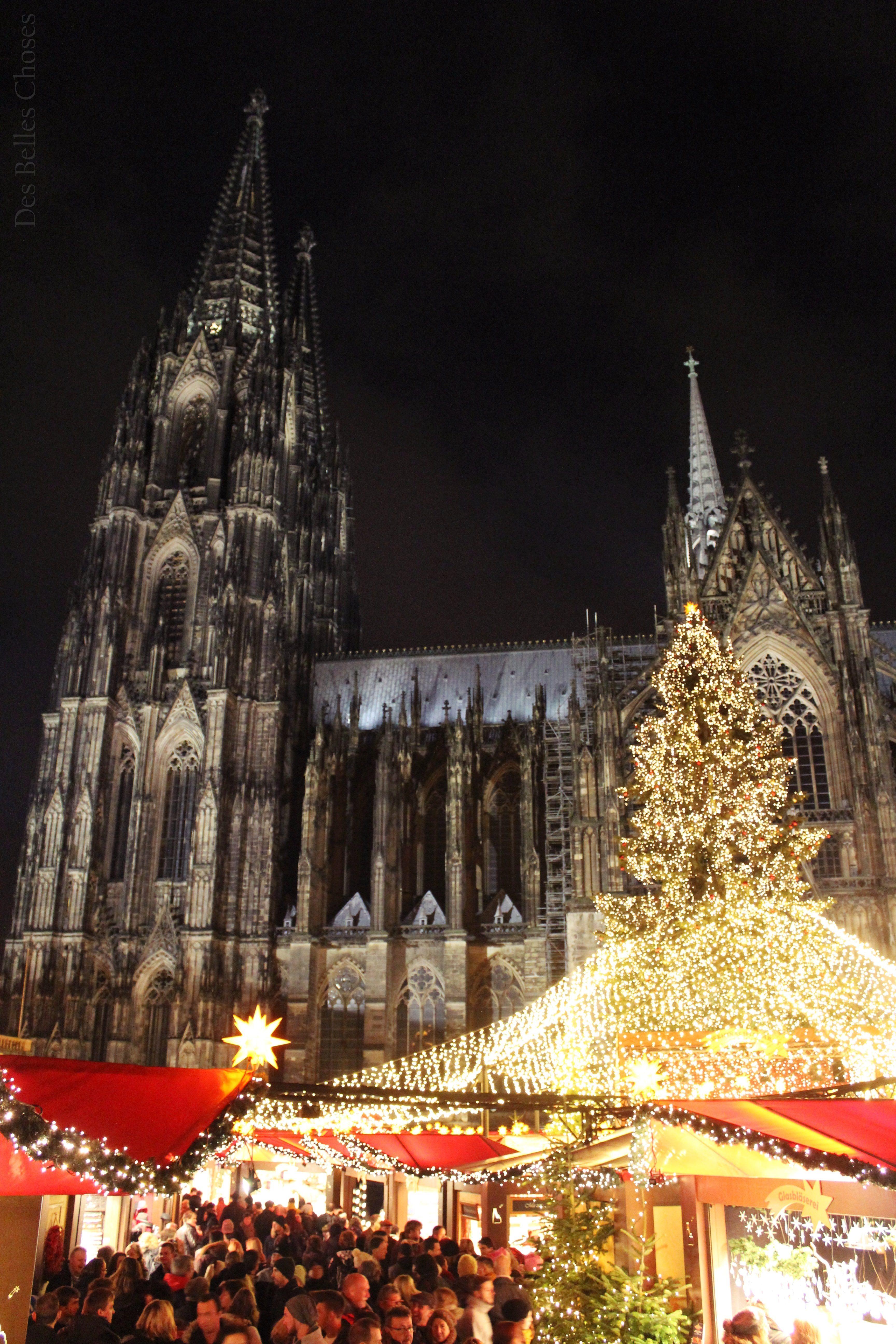 Kölner Dom Weihnachtsmarkt