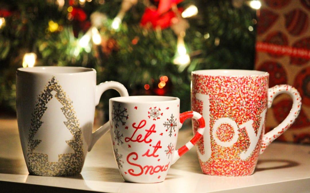 Weihnachtliche DIY Idee – Meine Christmas Mugs