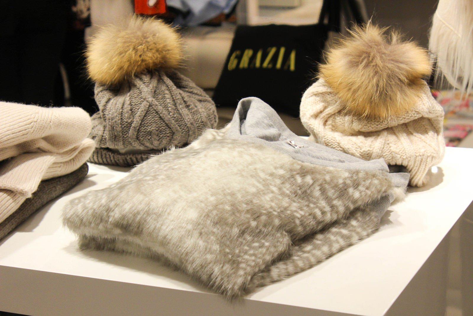 Die Winter Collection wurde natürlich ebenfalls begutachtet, Brini und ich fanden diesen Pullover besonders schön