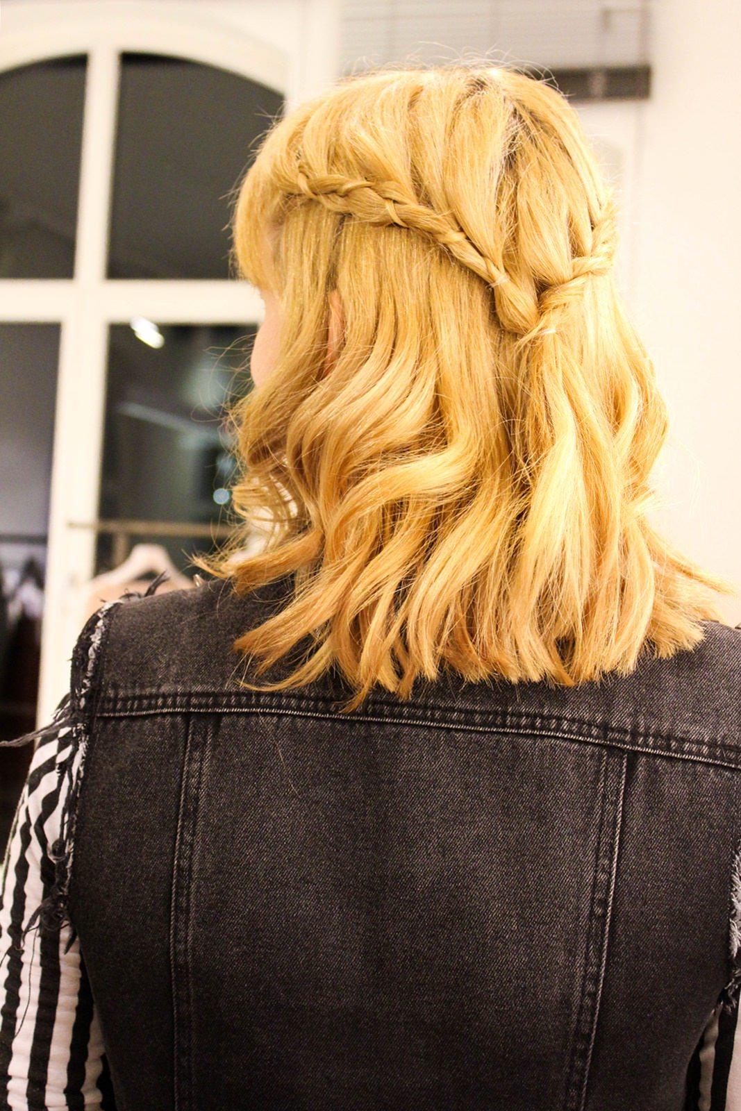 So sah die Frisur im Detail aus