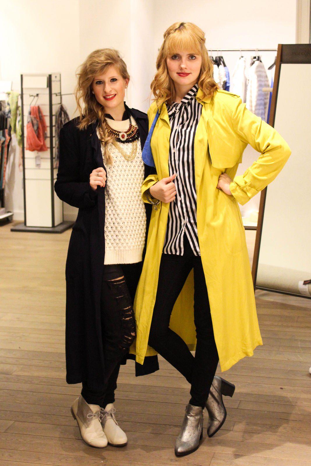 Trenchcoat Twins mit Sabrina von Brinis Fashionbook