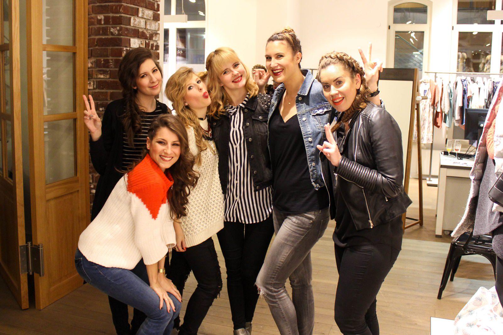 Steffi, Charlotte, Brini, Rabea und Emilie