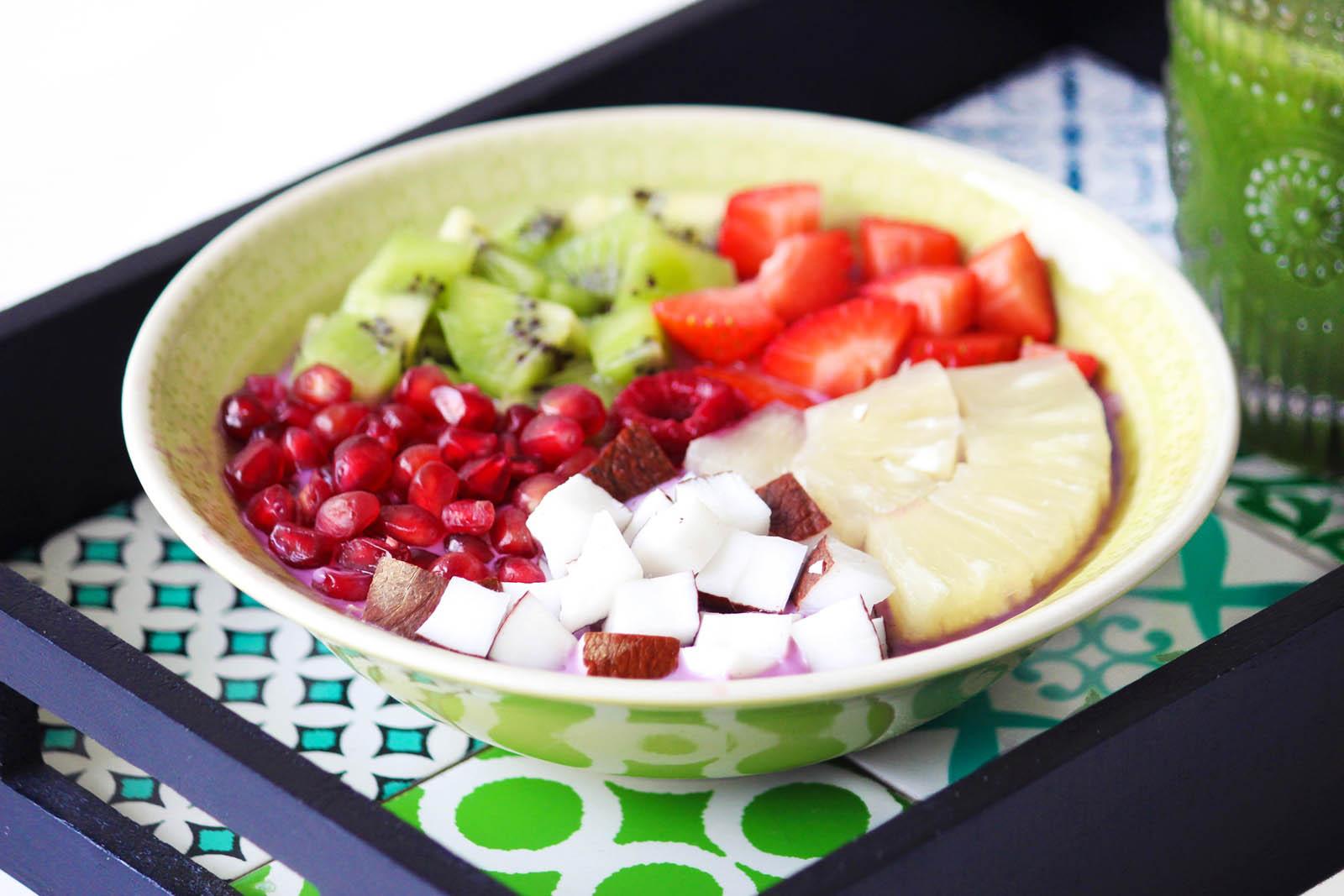 Des Belles Choses - Gesundes Frühstück mit Green Smoothie 2