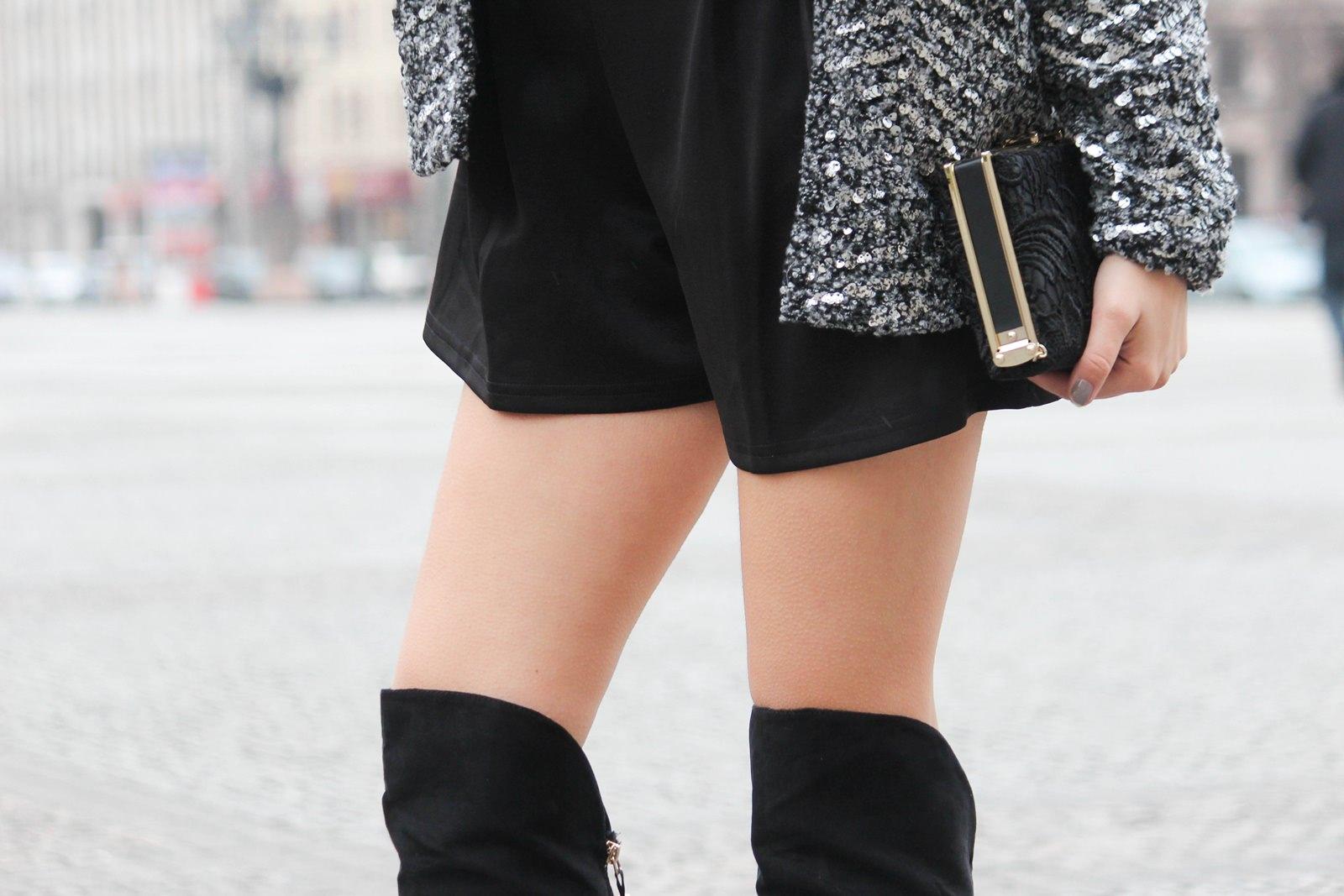 Des Belles Choses - Outfit - Overknees, Jumpsuit 3