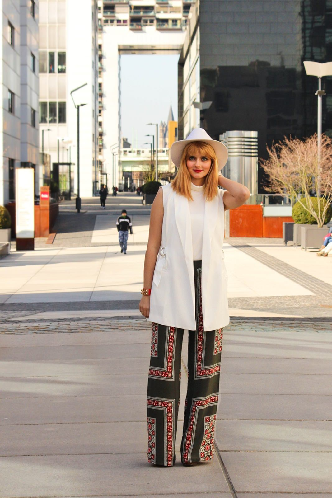 Des Belles Chosea_Fashionblog Cologne_Ethno palazzo trousers_Zara 1