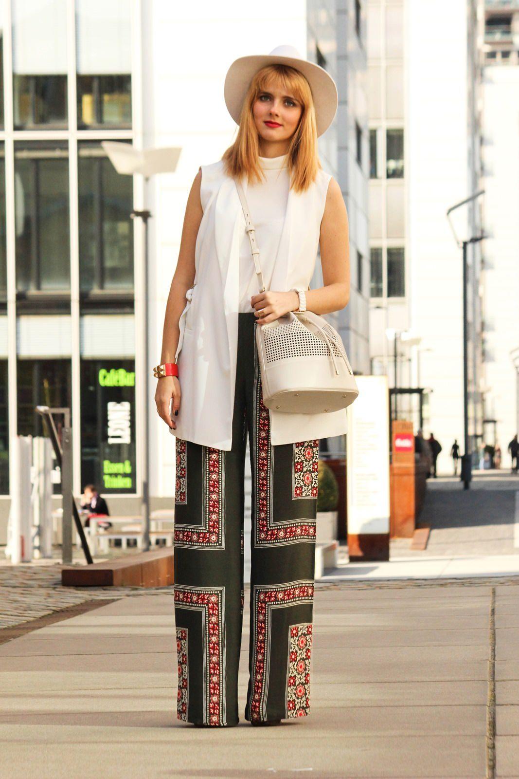 Des Belles Chosea_Fashionblog Cologne_Ethno palazzo trousers_Zara 3