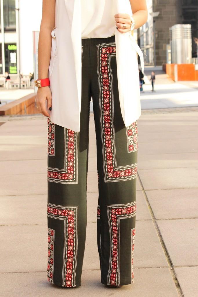 Des Belles Chosea_Fashionblog Cologne_Ethno palazzo trousers_Zara 9