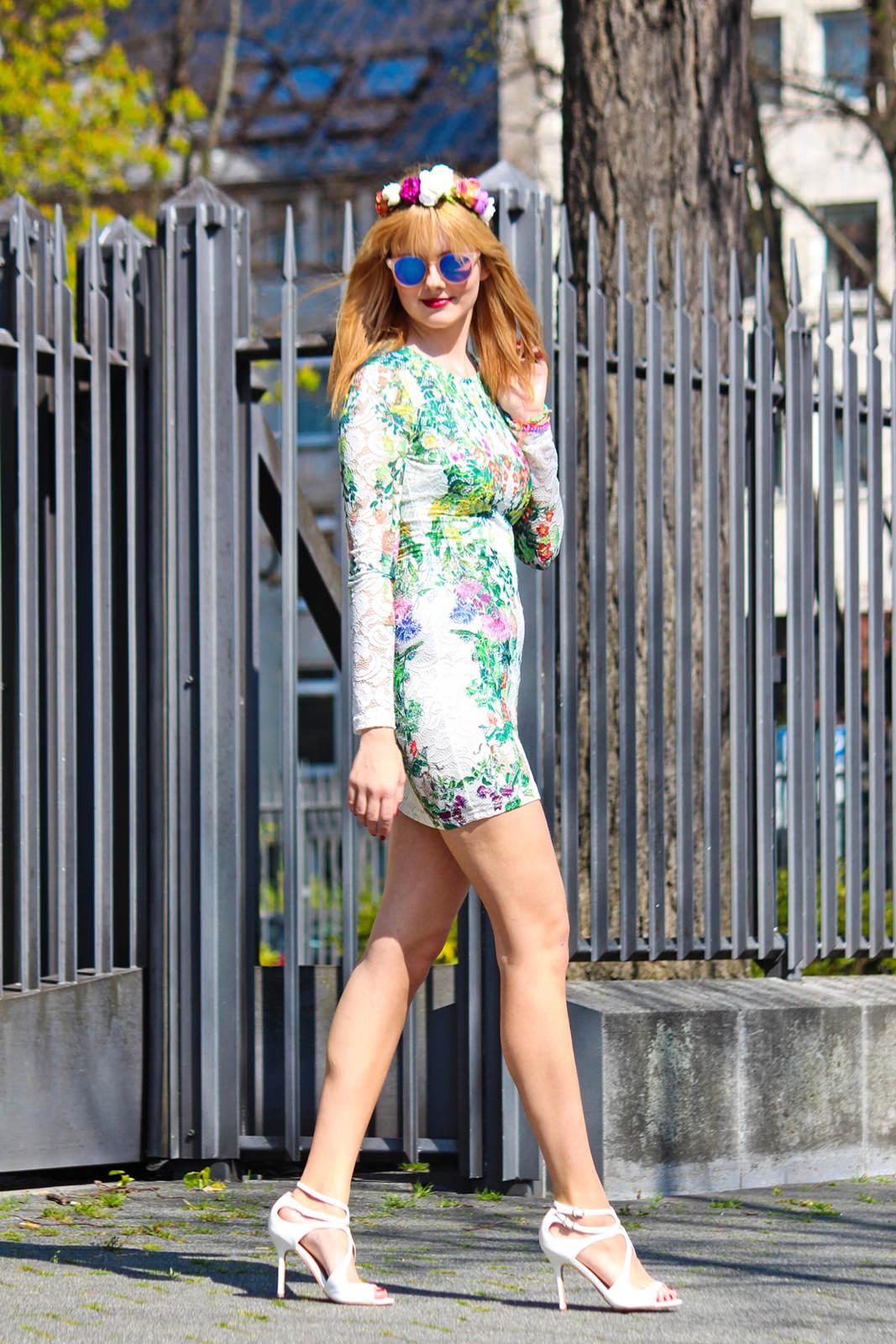 Des Belles Choses_Fashionblog Cologne_Forever 21 Flower Dress 3