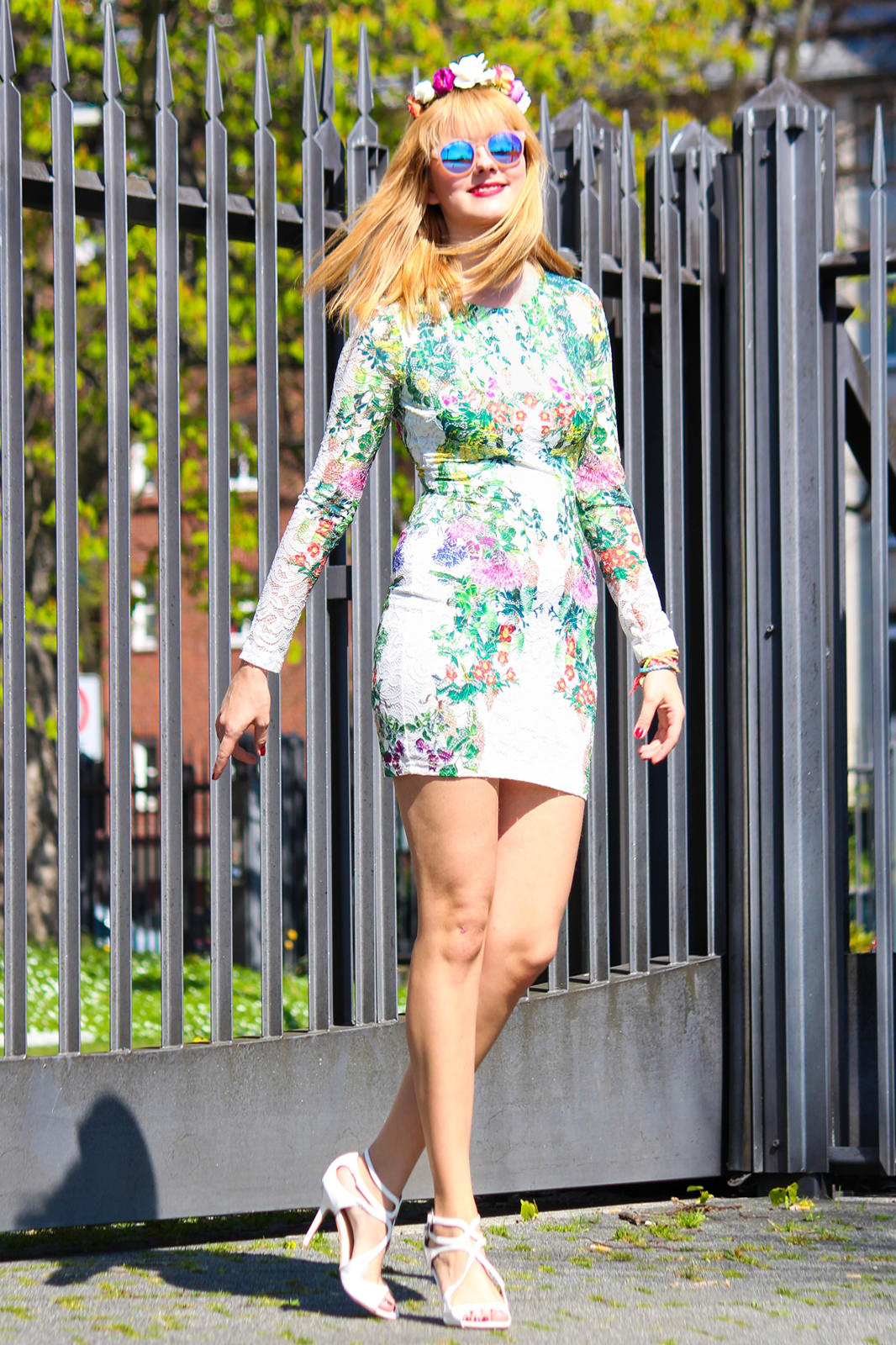 Des Belles Choses_Fashionblog Cologne_Forever 21 Flower Dress 4