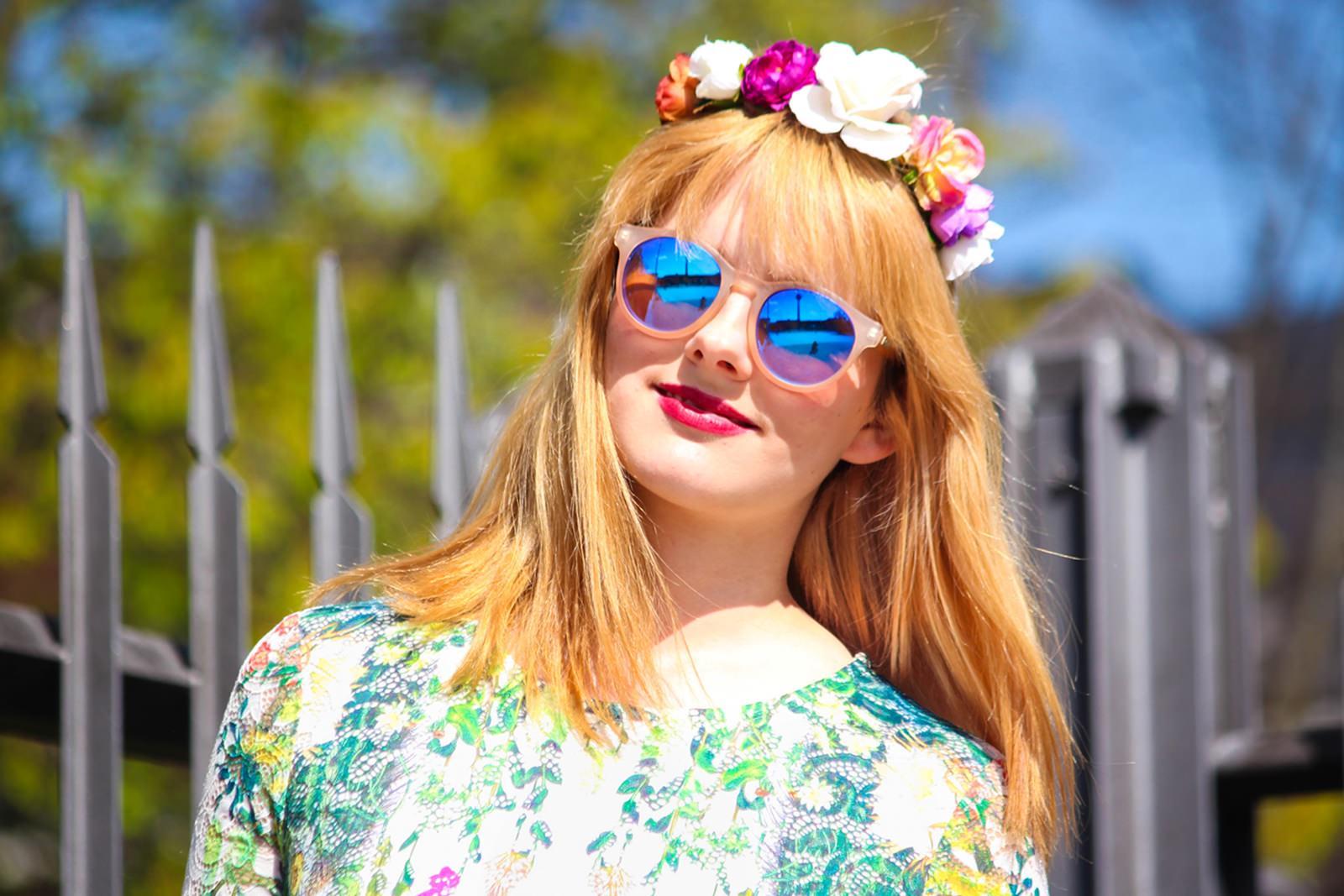 Des Belles Choses_Fashionblog Cologne_Forever 21 Flower Dress 6