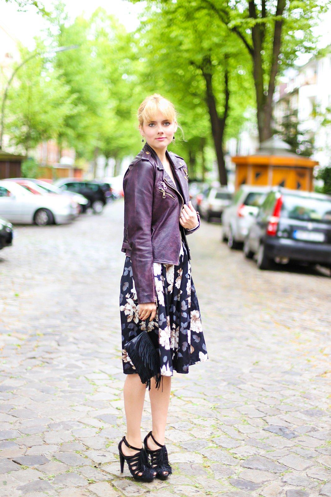 Des Belles Choses_Outfit Midi Skirt_Flower Print 1