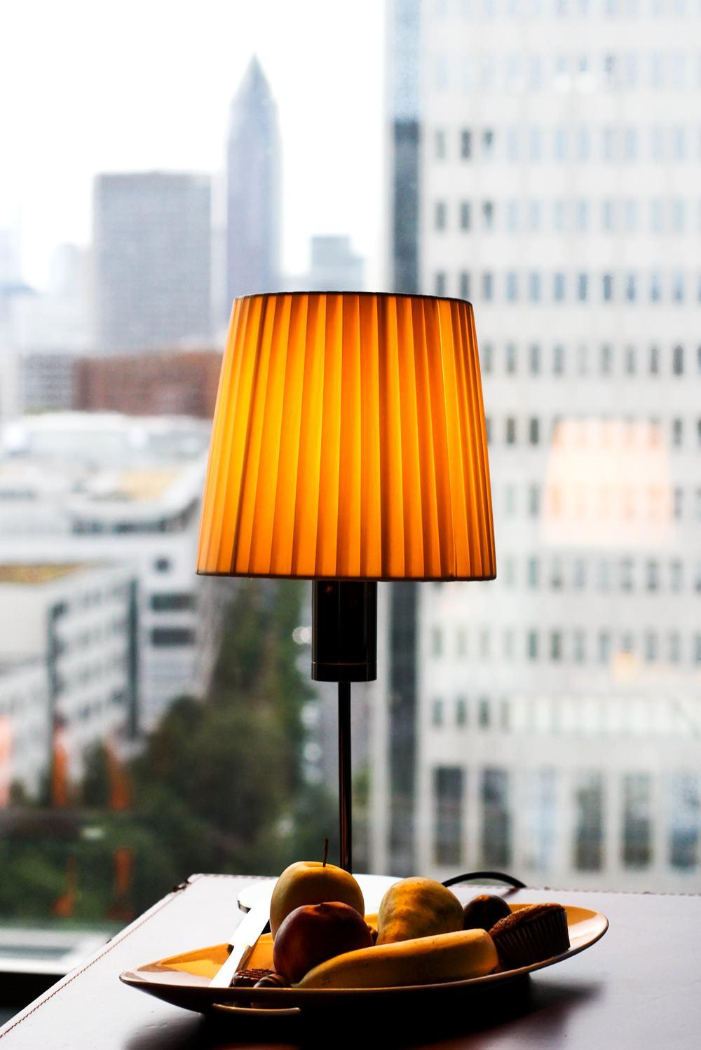 Radisson Blue Hotel Frankfurt - Blick aus der Executive Suite auf die Frankfurter Skyline