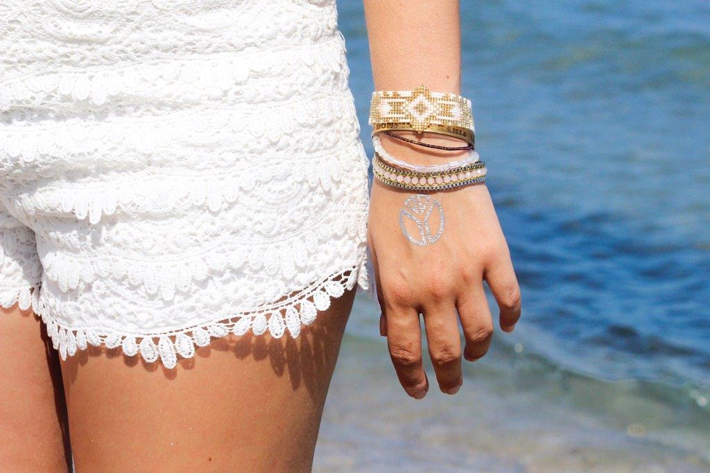 Strandtag auf Kos Marmari Beach Flashtattoos