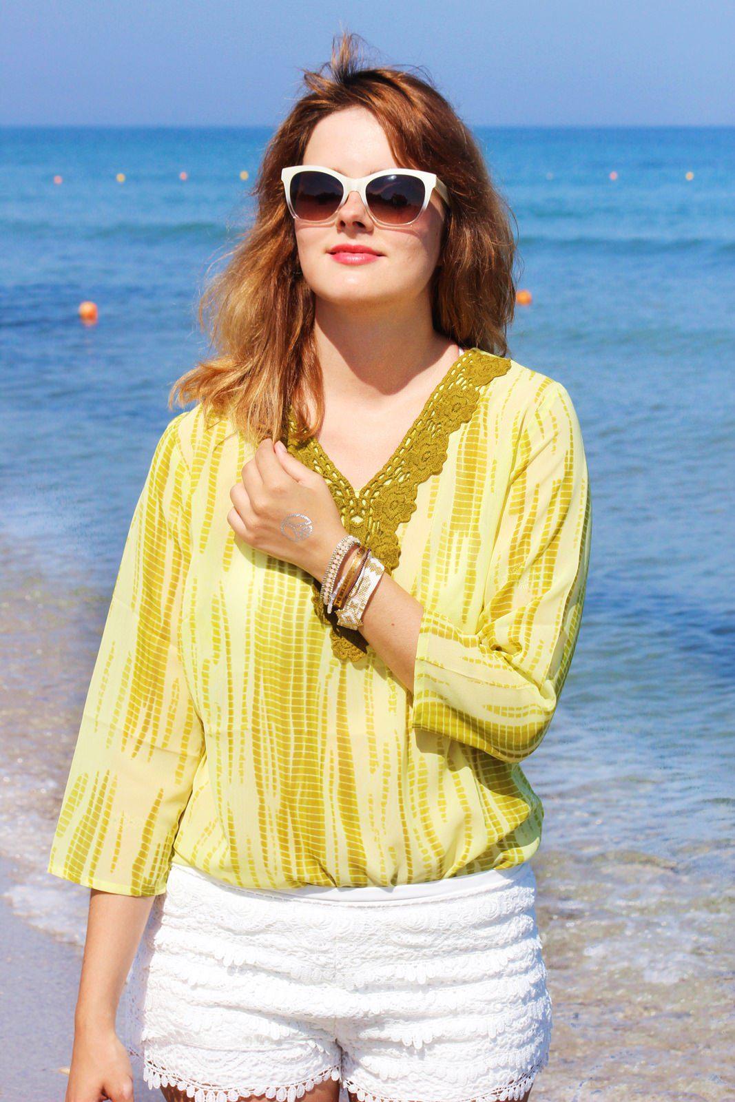 Strandtag auf Kos Marmari Beach