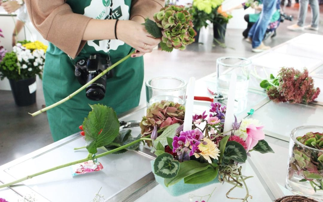 Tausend gute Gründe Event – Zwei einfache Blumen DIYs