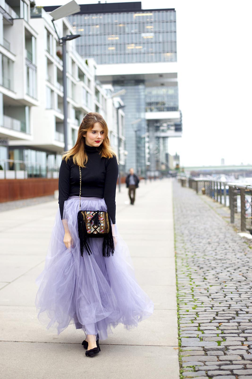 b139fde2b3f4 Outfit für glamouröse Feiertage: Der Tüllrock - Des Belles Choses ...