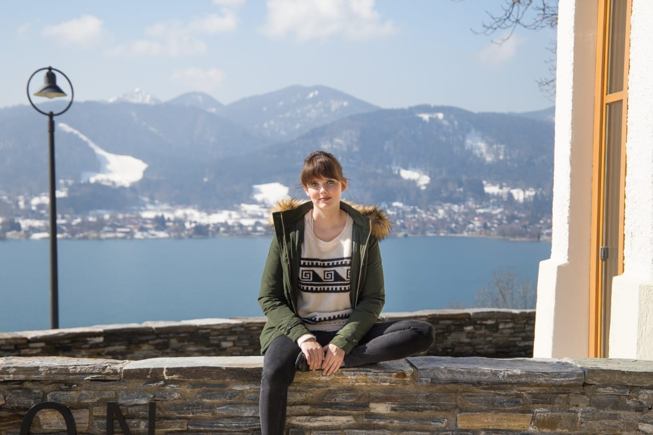 Hotel DAS TEGERNSEE: Alpenpanorma im Winter