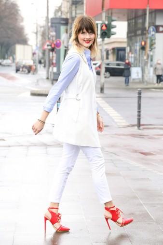 Outfit für den Frühling mit Furla Metropolis Bag