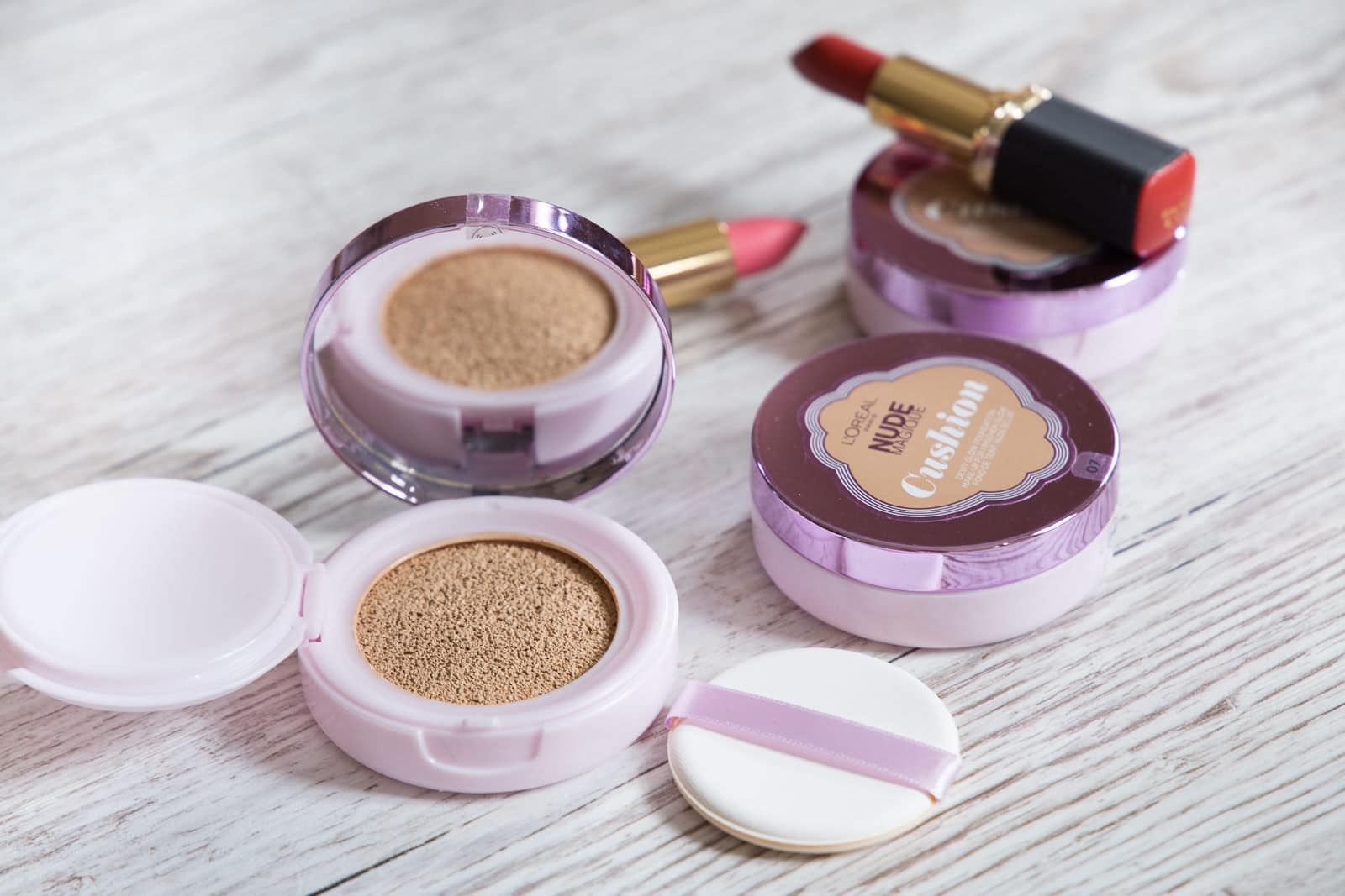 L'Oréal Nude Magique Cushion Foundation: Die 3 Nuancen im Test