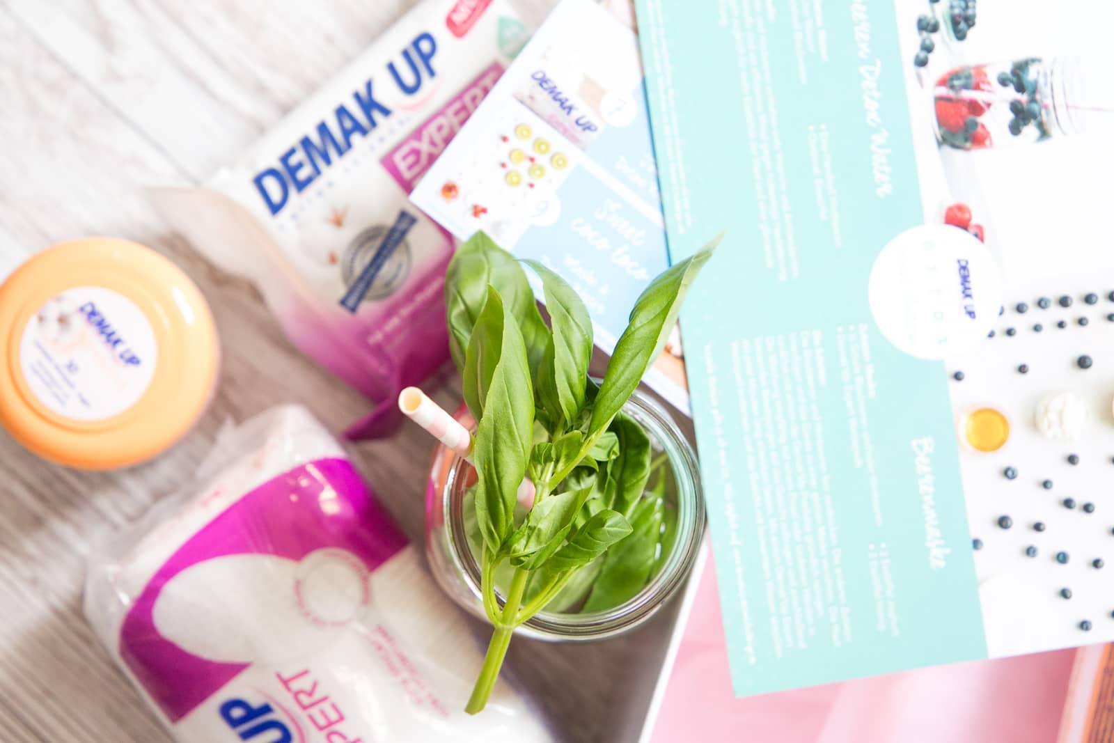 Demak'Up Detox Challenge: So trinkst du ausreichend Wasser