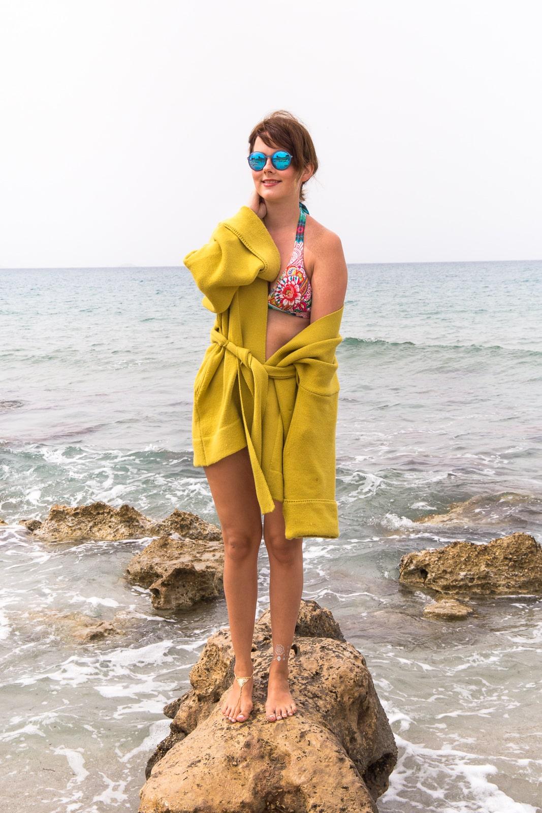 beach style auf kreta desigual bikini flash tattoos. Black Bedroom Furniture Sets. Home Design Ideas