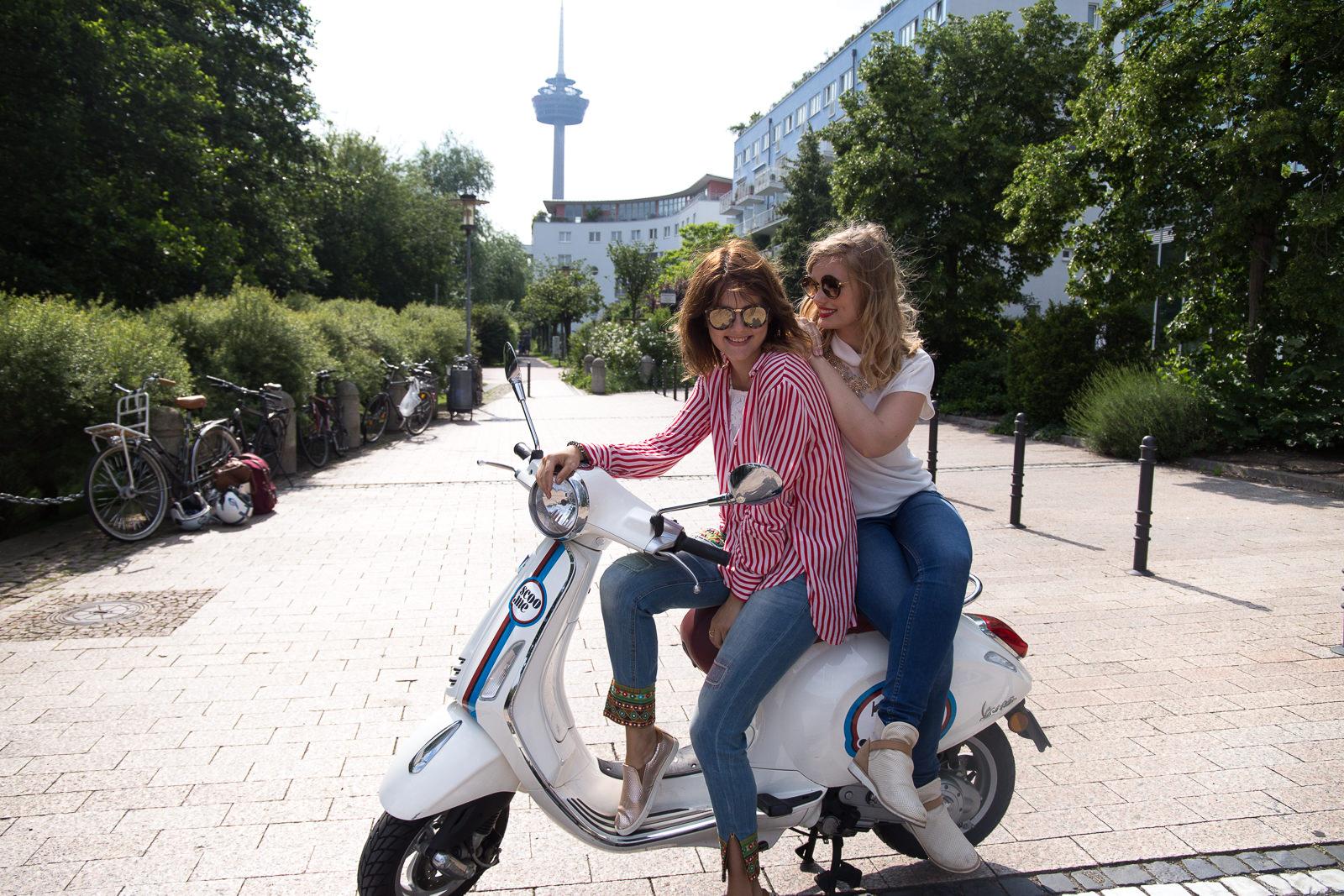 Vespa fahren in Köln – Freundinnentag mit scoo.me