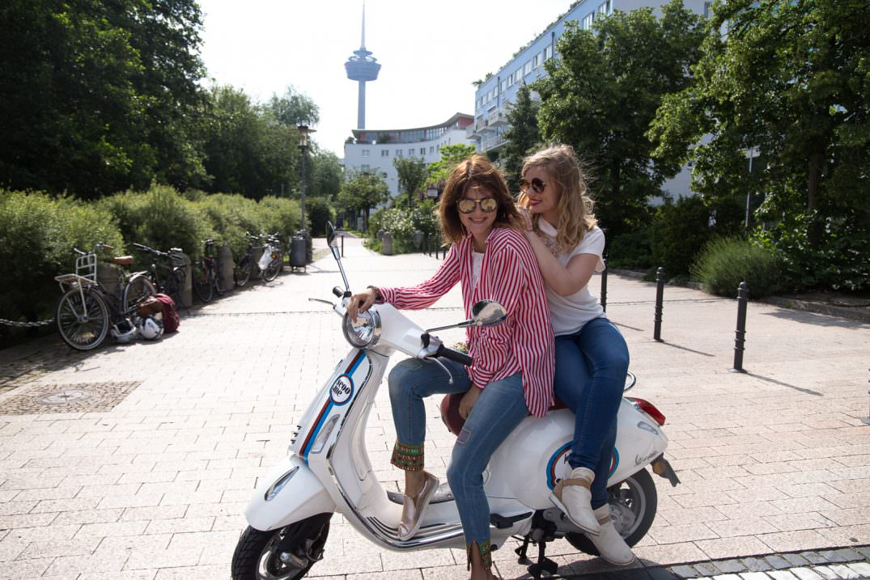 Vespa fahren in Köln: Unser Freundinnen-Tag mit Scoo.me