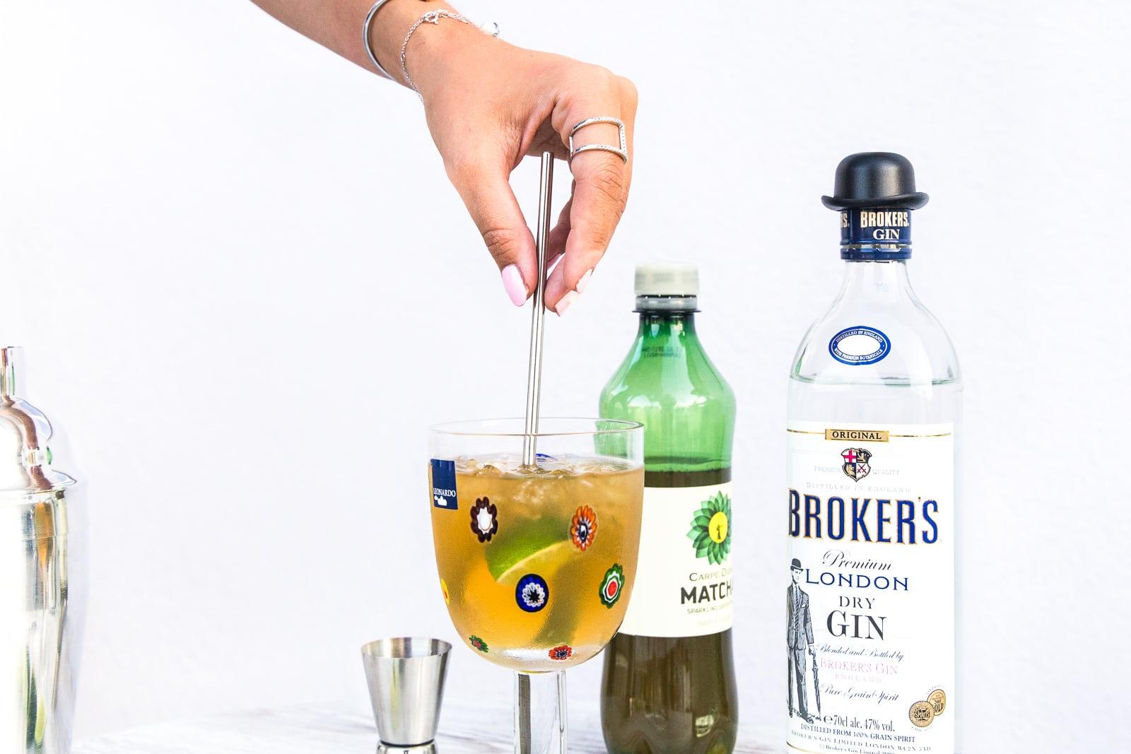 Matcha als Cocktail-Trend: Matcha Mule mit Carpe Diem