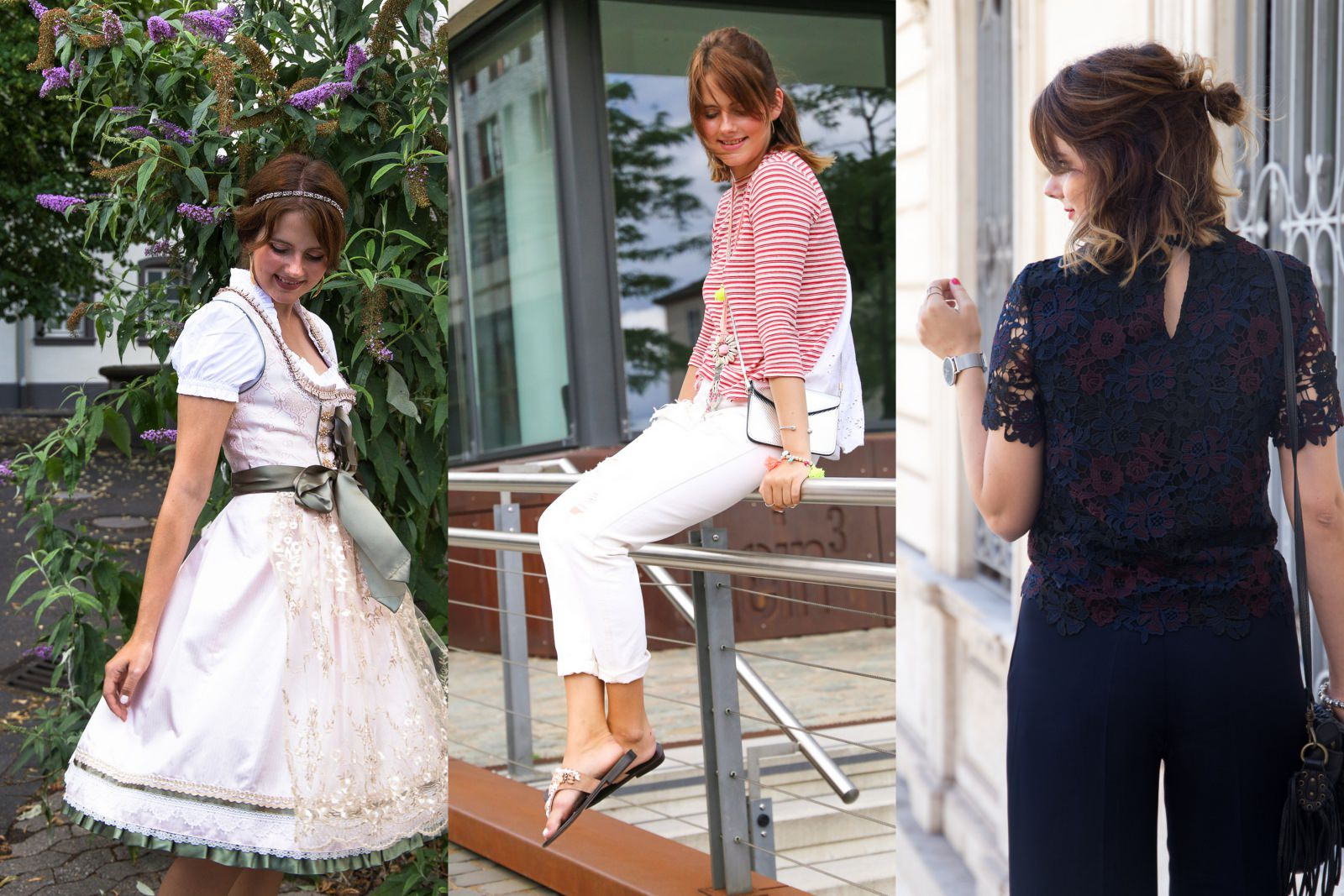 Outfit Review August 2016: Wiesn Style & Dolce Vita