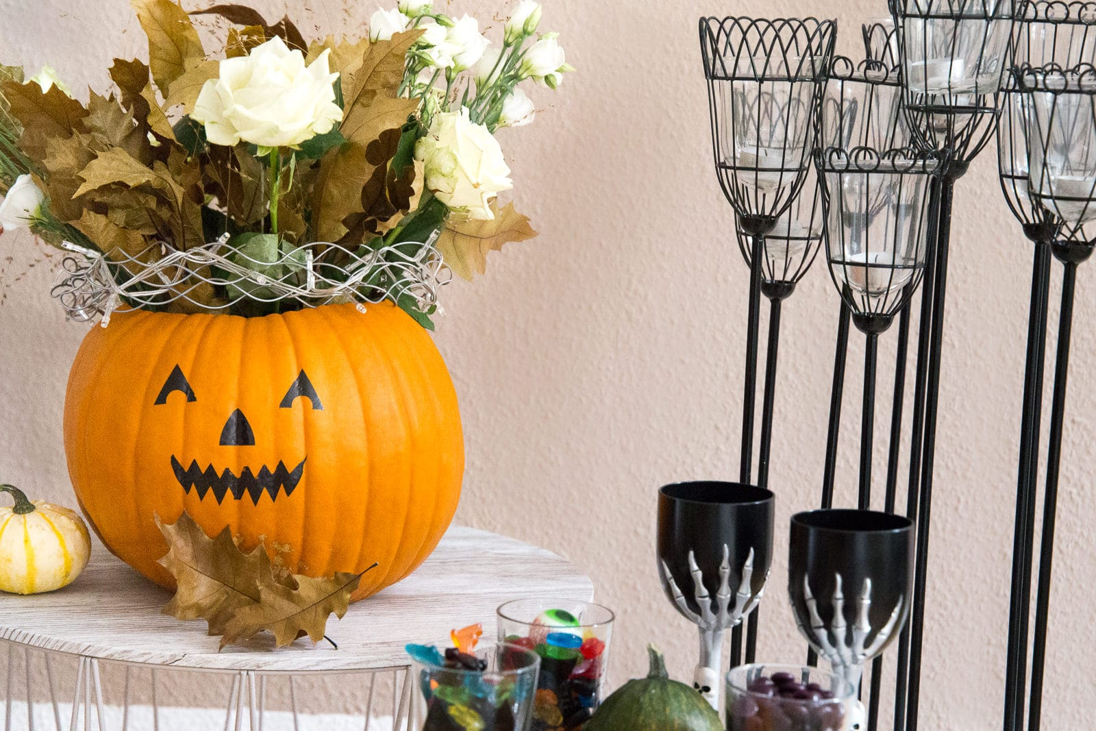 DIY Idee: Halloween Candy Bar - Süßes oder Saures?