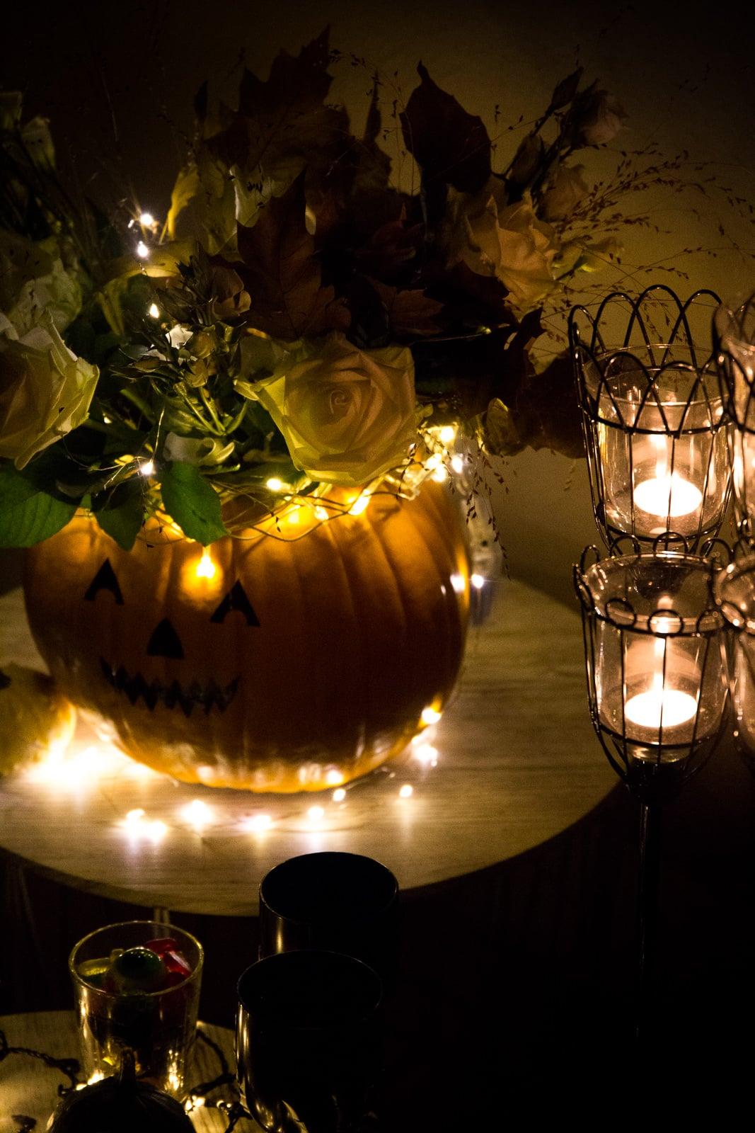 Diy idee halloween candy bar s es oder saures - Stilreich blog ...