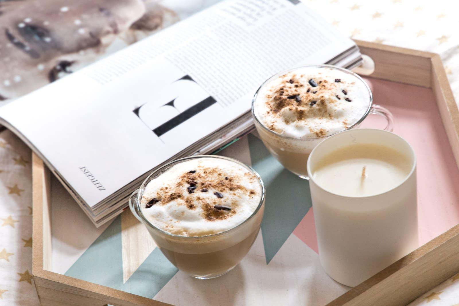 Rezept für mehr Weihnachten im Kaffee: Lebkuchen Latte