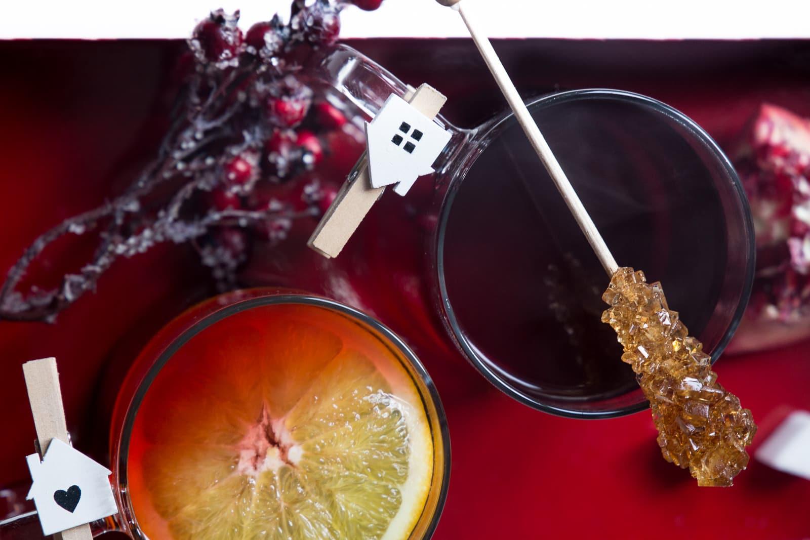 Für die kalten Tage: Weihnachtlicher Granatapfel Punsch