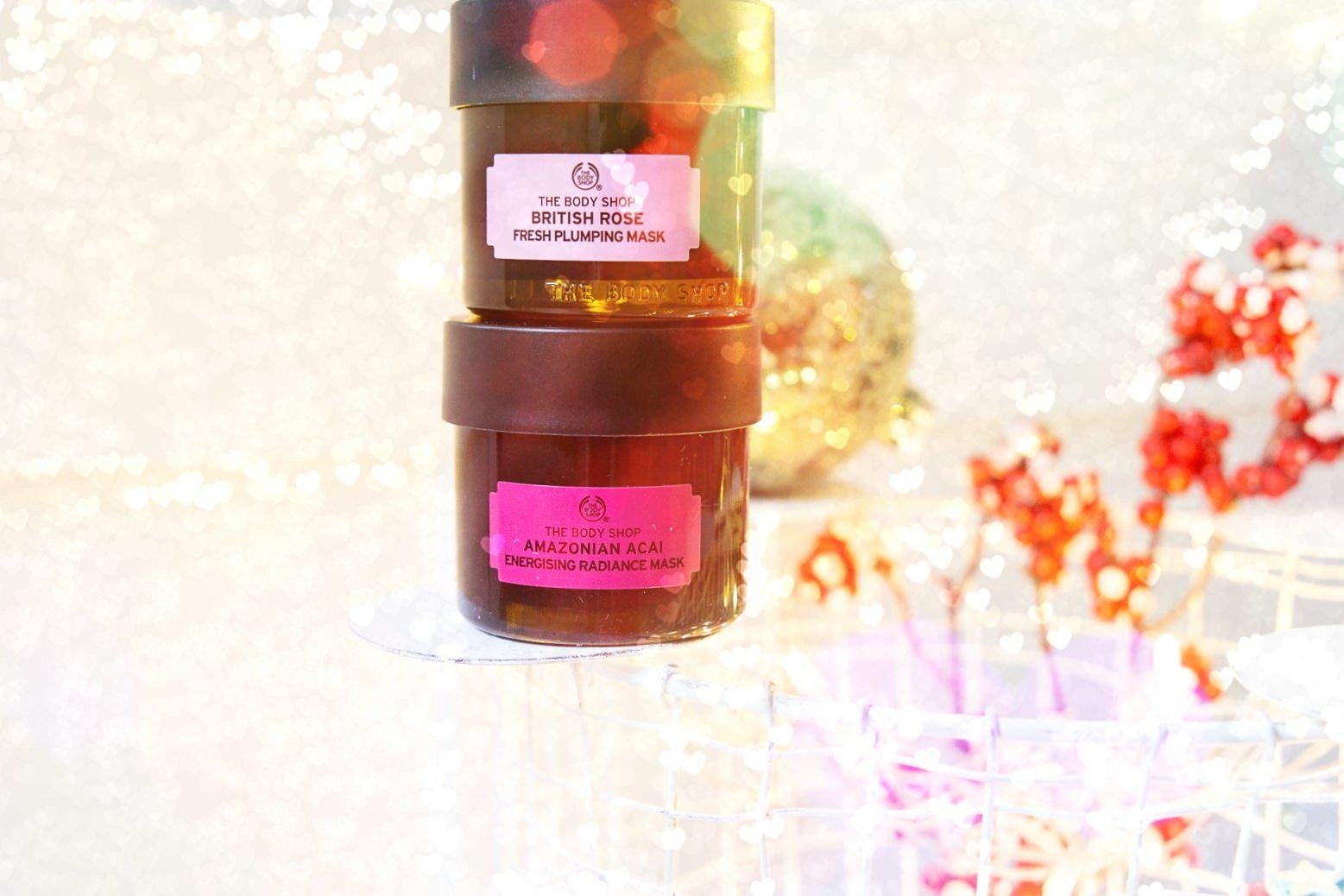 Türchen 7: Gewinne drei The Body Shop Gesichtsmasken