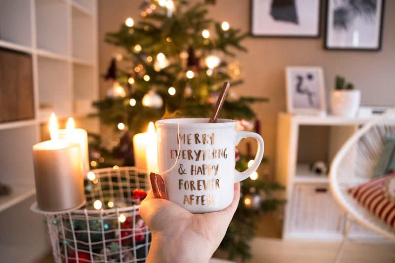 Interior Update: Weihnachten in meiner neuen Wohnung mit Yogi Tea