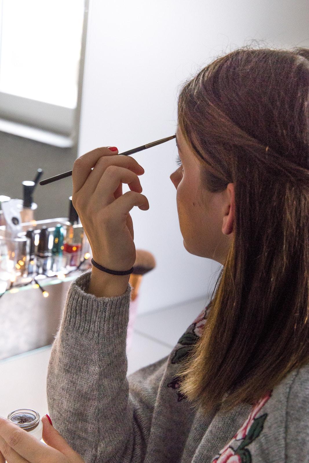 Get ready with me: Frisur & Make-Up für Weihnachten 2016