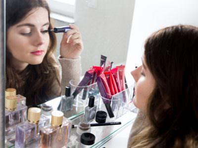 L'Oréal X-Fiber False Lash Mascara im Vorher-Nachher-Vergleich