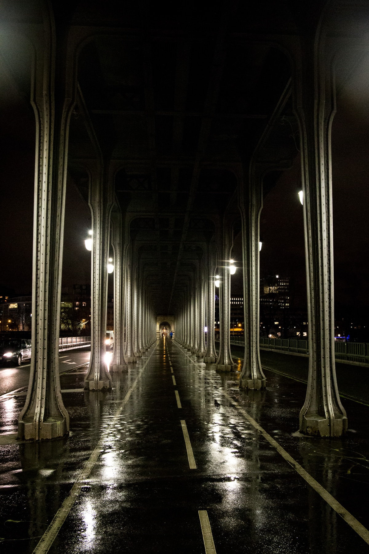 Pont des Arts im Sonnenaufgang