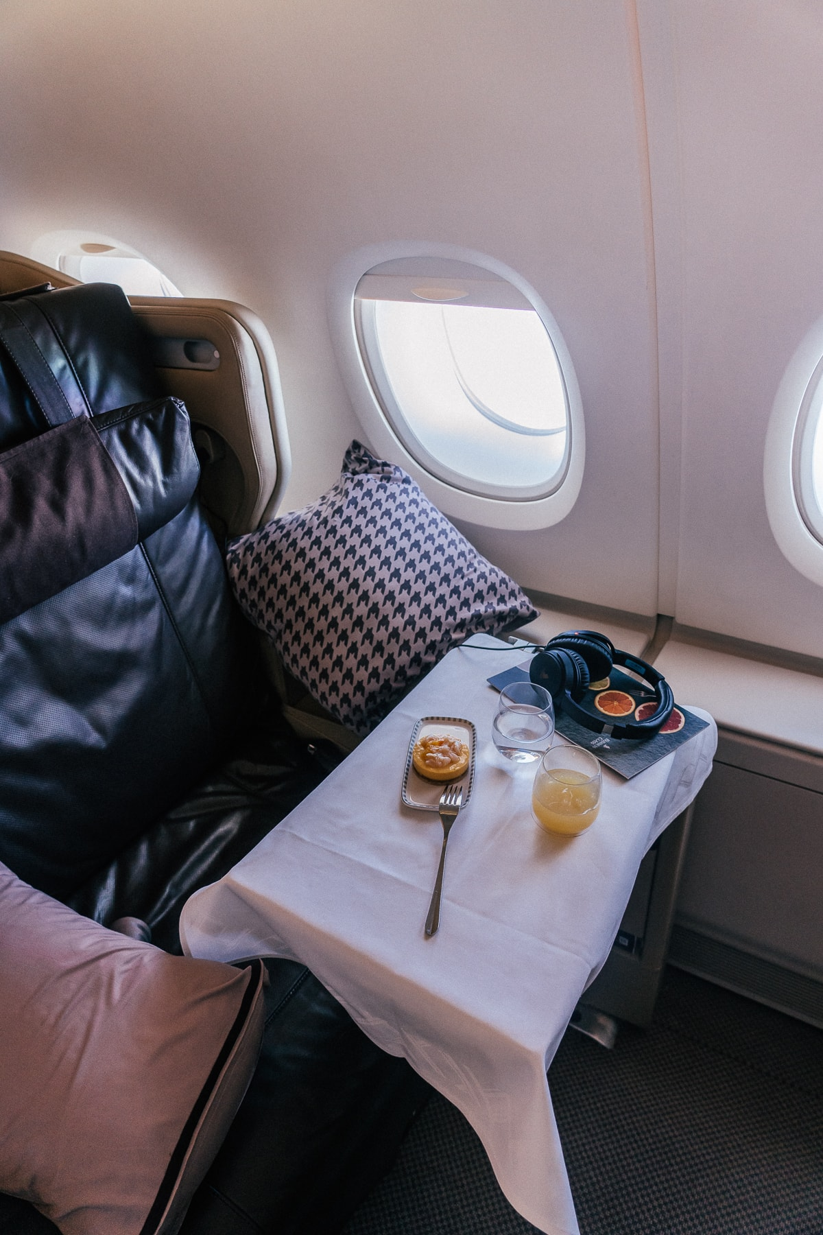 Flight Review - Singapore Airlines Business Class nach Sydney