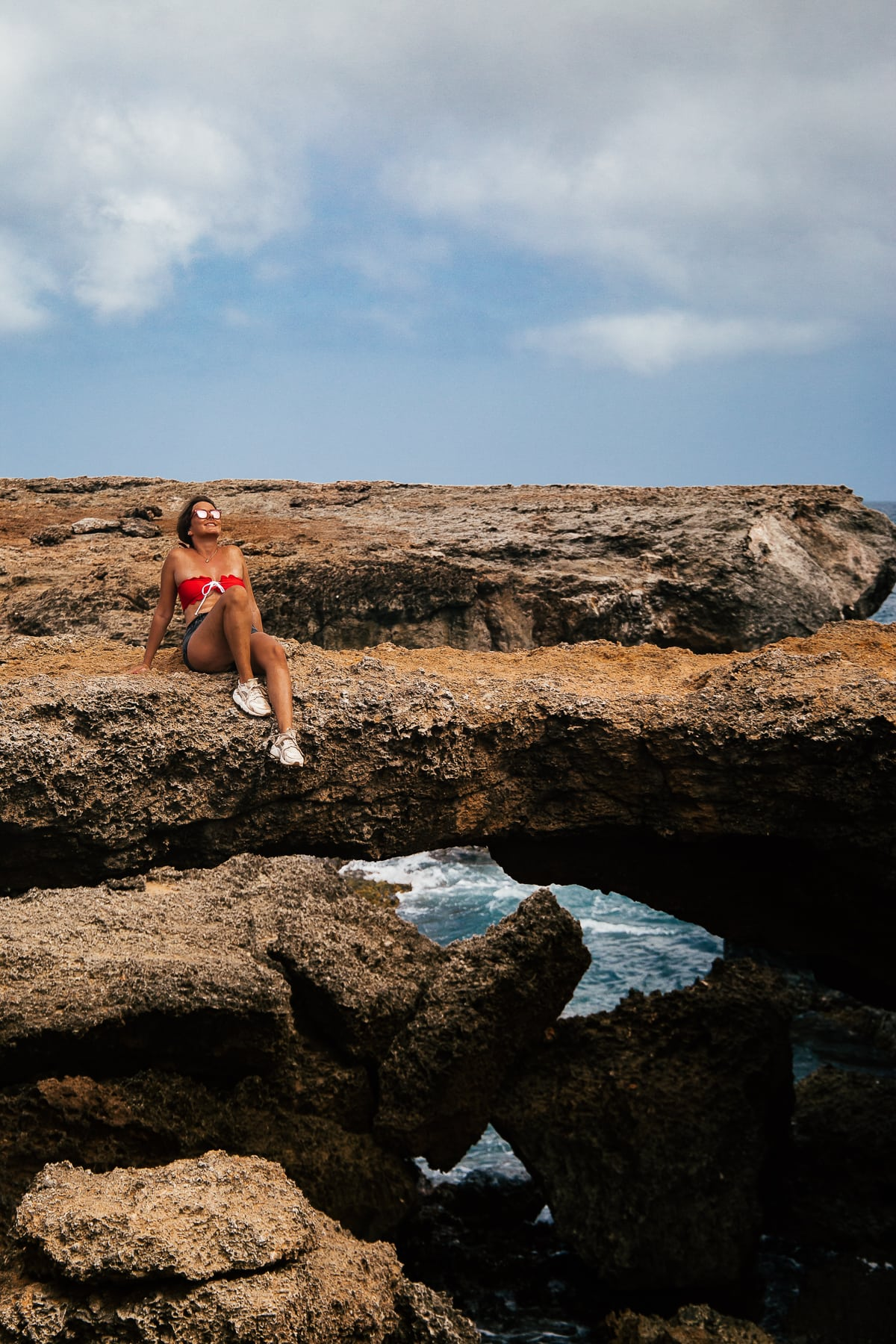 Natural Bridge im Norden von Aruba - Ausflugsziele im Arikok Nationalpark