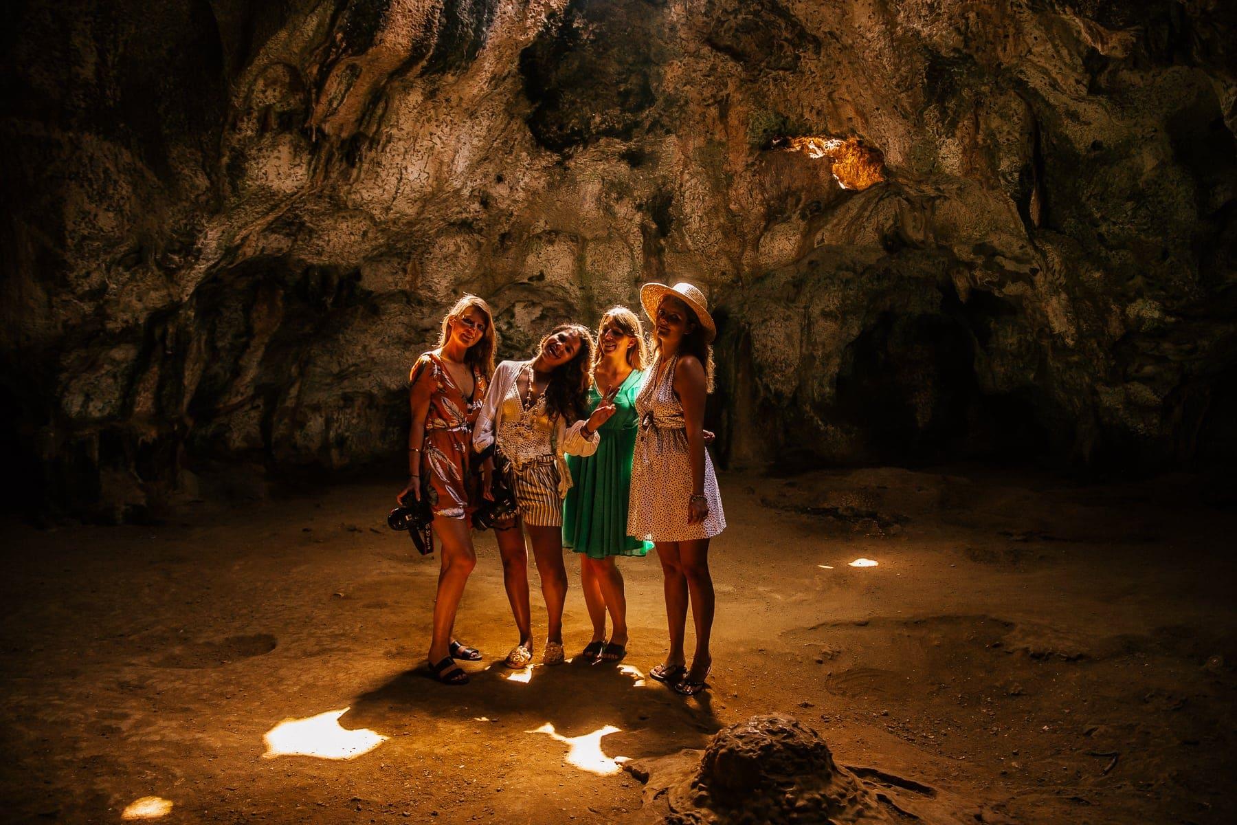 Quadirikiri Cave im Norden von Aruba