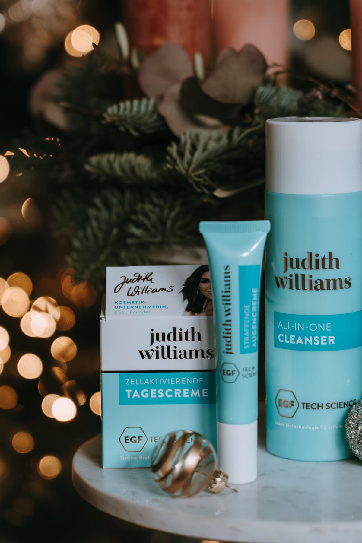 Adventskalender Türchen 3: Judith Williams Pflege Set