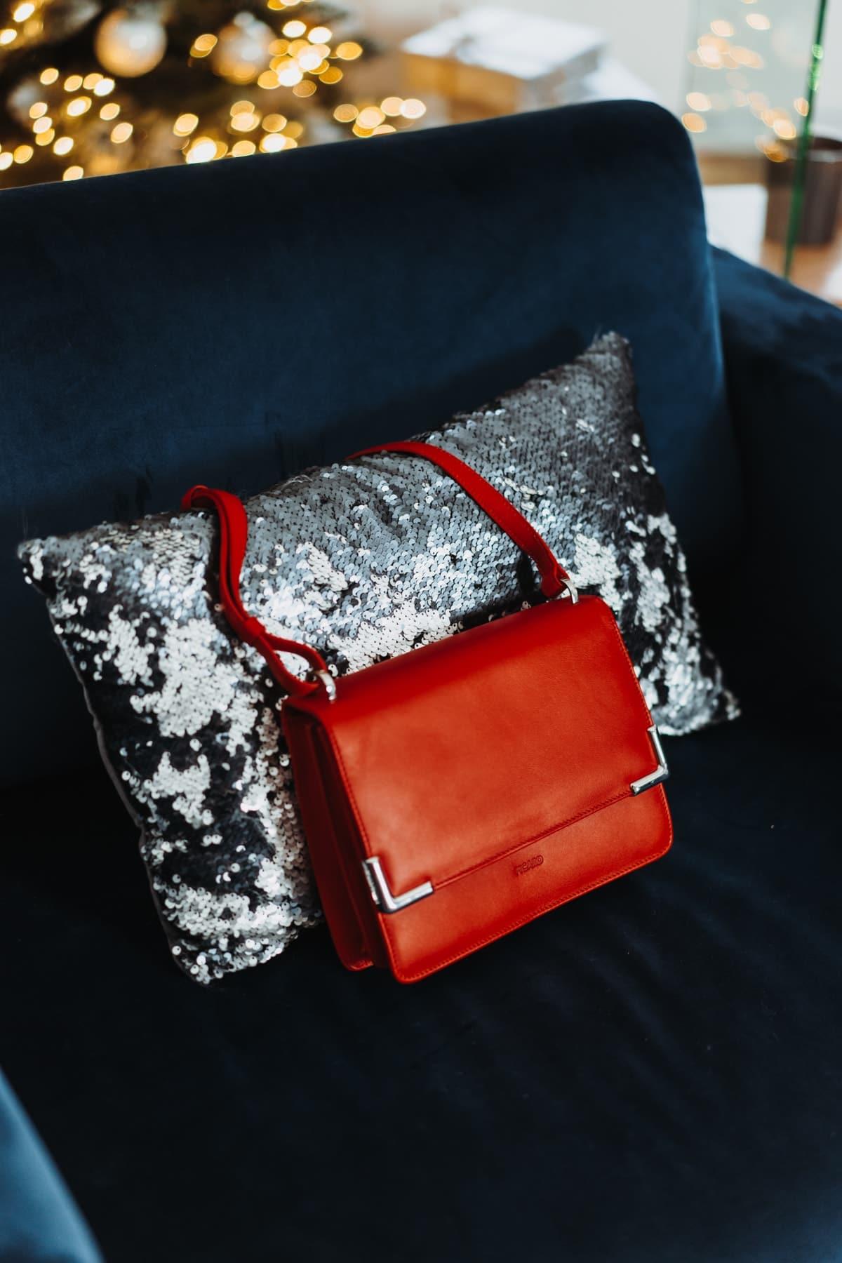 Adventskalender Türchen 5: Rote Picard Handtasche