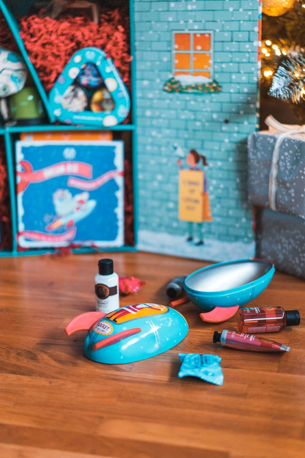 Adventskalender Türchen 8: The Body Shop Rocket to the Stars Geschenkset