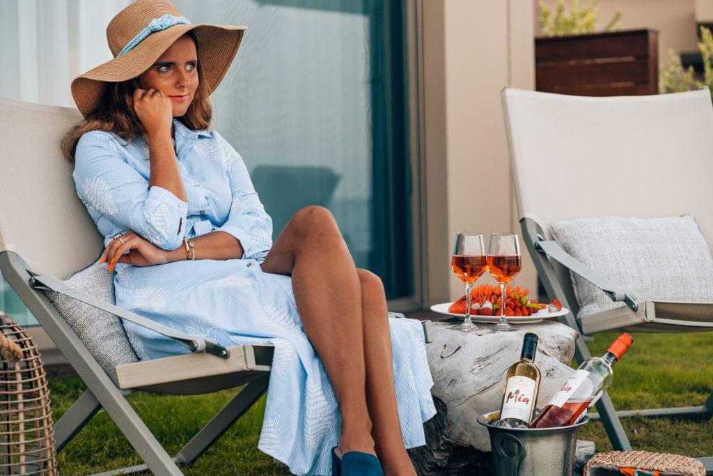 Der perfekte Sommerabend auf Korfu - Sommerliche Drinks mit Mia Wein auf Eis