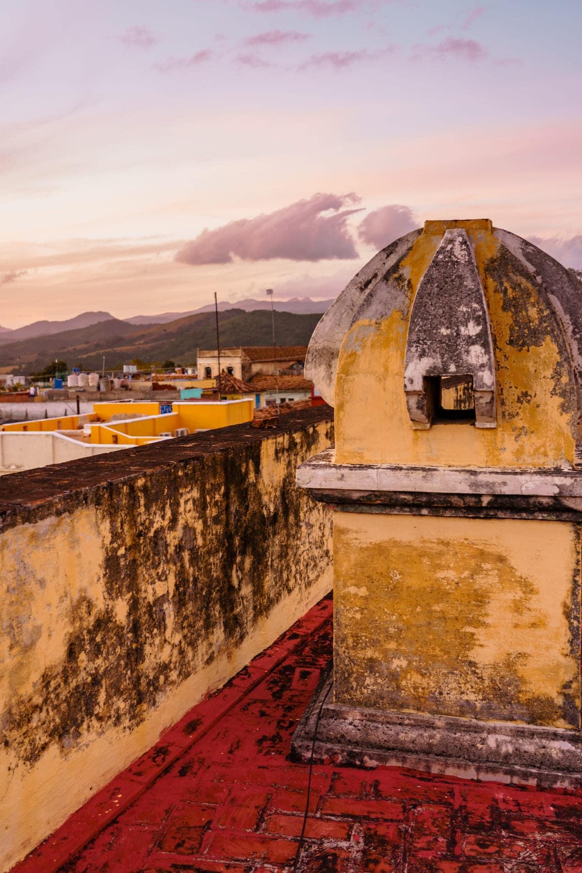 Reisetipps für Trinidad auf Kuba: Glockenturm von Convento de San Francisco de Asís