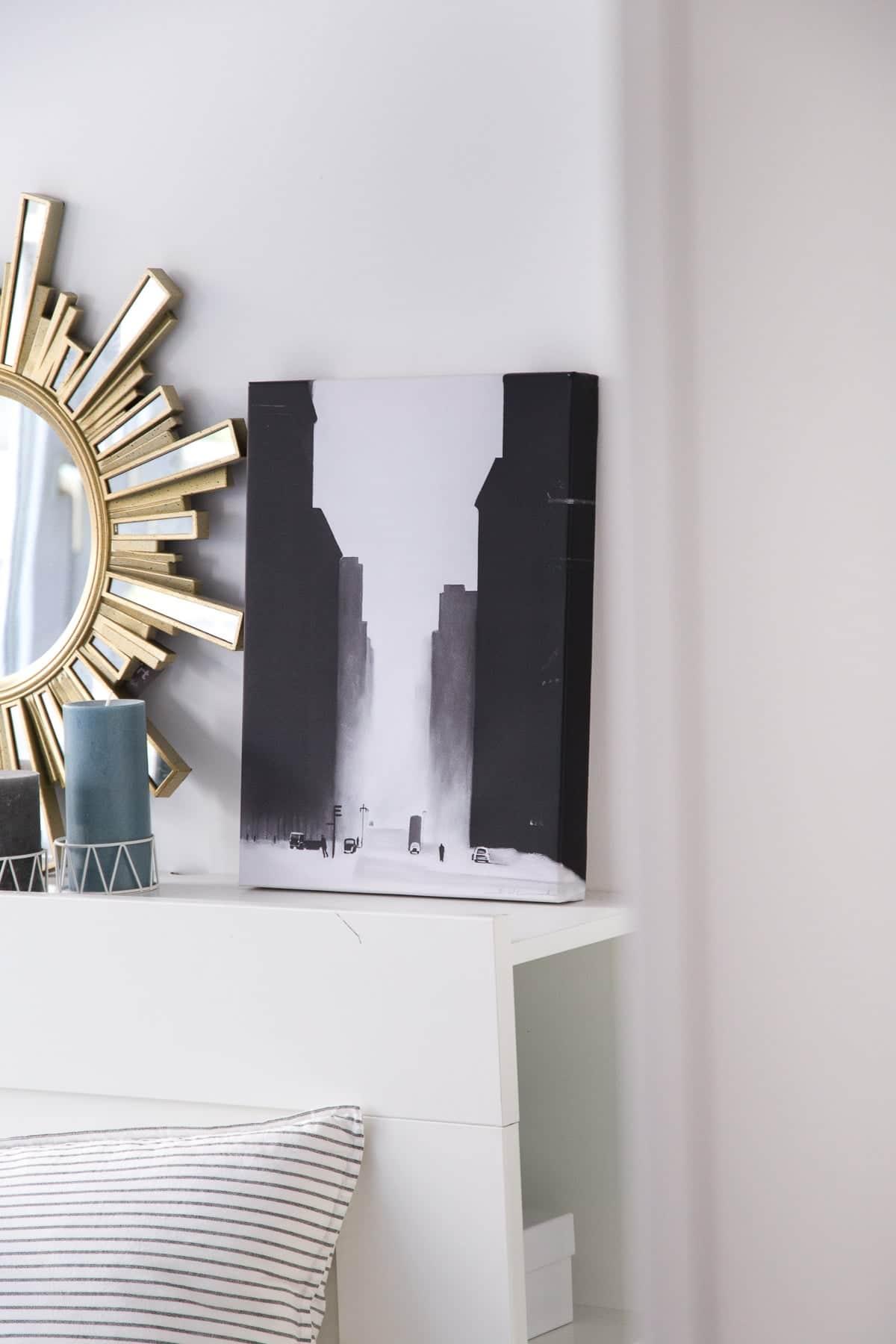 Unsere erste gemeinsame Wohnung - New York Leinwandbilder