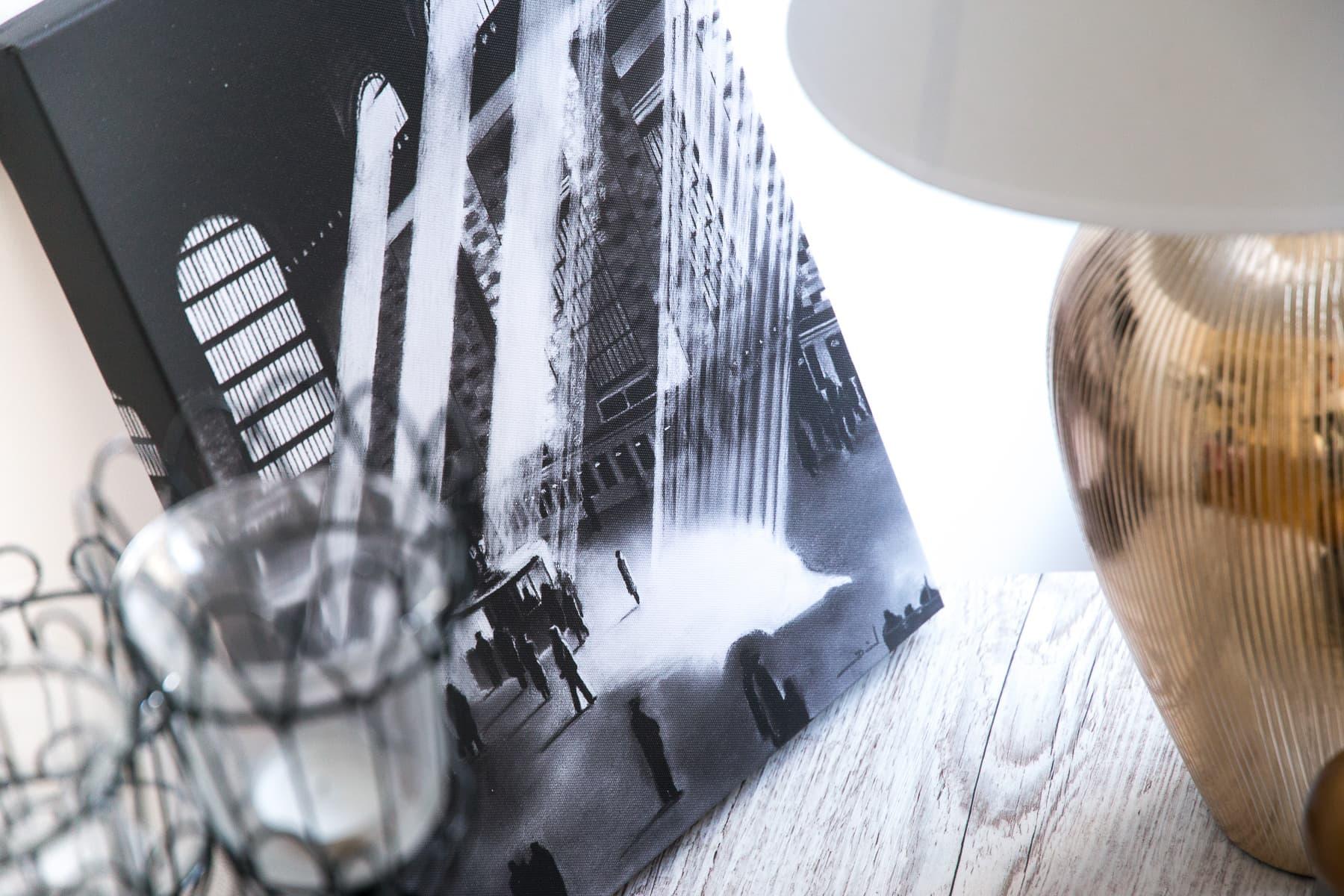 unsere erste gemeinsame wohnung new york leinwandbilder. Black Bedroom Furniture Sets. Home Design Ideas